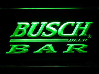 Busch Bar LED Neon Sign - Green - SafeSpecial