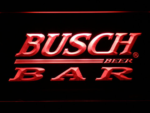 Image of Busch Bar LED Neon Sign - Red - SafeSpecial