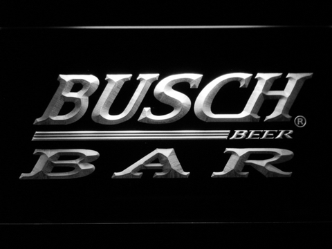 Image of Busch Bar LED Neon Sign - White - SafeSpecial