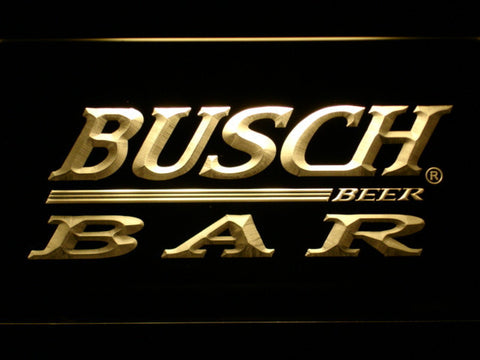 Image of Busch Bar LED Neon Sign - Yellow - SafeSpecial