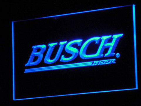 Busch LED Neon Sign - Blue - SafeSpecial