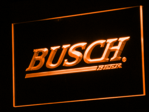 Busch LED Neon Sign - Orange - SafeSpecial