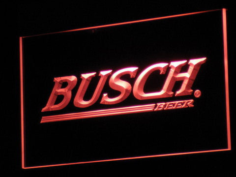 Busch LED Neon Sign - Red - SafeSpecial