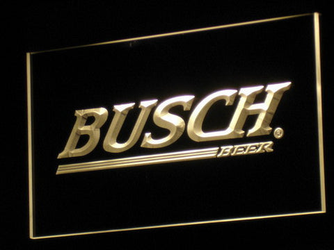Busch LED Neon Sign - Yellow - SafeSpecial