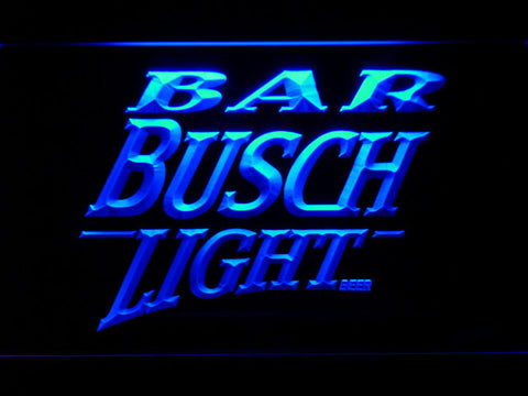 Image of Busch Light Bar LED Neon Sign - Blue - SafeSpecial