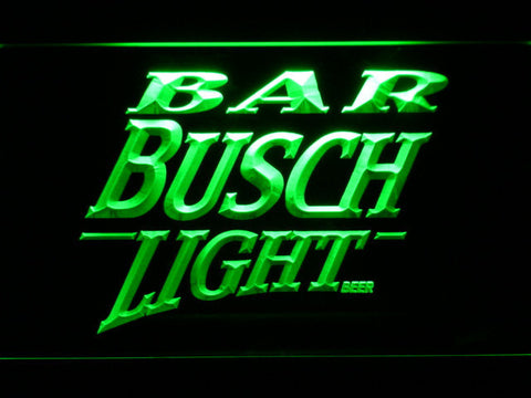 Image of Busch Light Bar LED Neon Sign - Green - SafeSpecial
