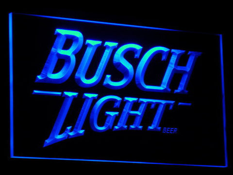 Image of Busch Light LED Neon Sign - Blue - SafeSpecial