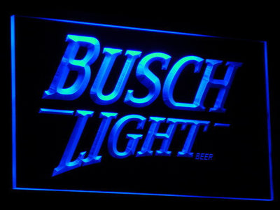 Busch Light LED Neon Sign - Blue - SafeSpecial