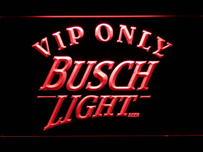Busch Light VIP Only LED Neon Sign - Red - SafeSpecial