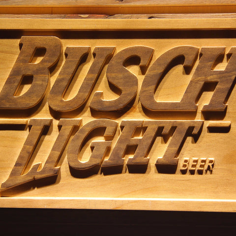 Image of Busch Light Wooden Sign - - SafeSpecial