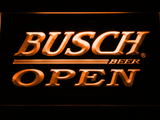 Busch Open LED Neon Sign - Orange - SafeSpecial