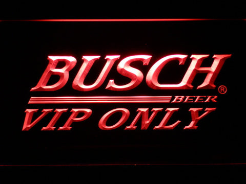 Busch VIP Only LED Neon Sign - Red - SafeSpecial