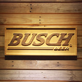 Busch Wooden Sign - Small - SafeSpecial