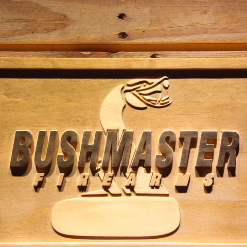 Image of Bushmaster Wooden Sign - - SafeSpecial