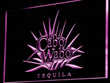 Cabo Wabo Tequila LED Neon Sign - Purple - SafeSpecial