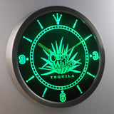 Cabo Wabo Tequila LED Neon Wall Clock - Green - SafeSpecial