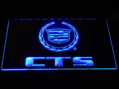 Cadillac CTS LED Neon Sign - Blue - SafeSpecial