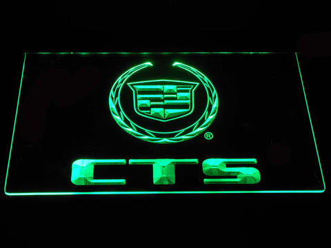 Cadillac CTS LED Neon Sign - Green - SafeSpecial