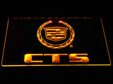 Cadillac CTS LED Neon Sign - Yellow - SafeSpecial