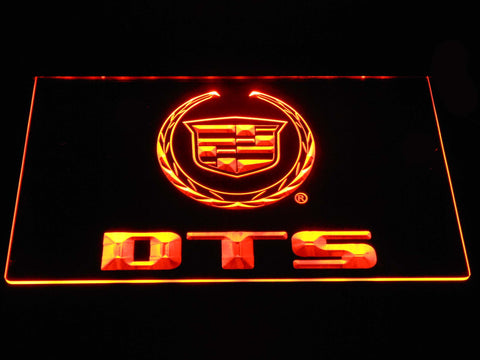 Cadillac DTS LED Neon Sign - Orange - SafeSpecial