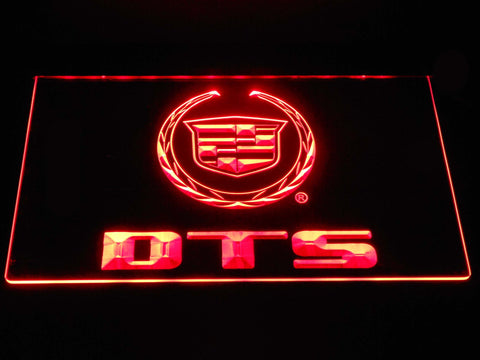 Cadillac DTS LED Neon Sign - Red - SafeSpecial