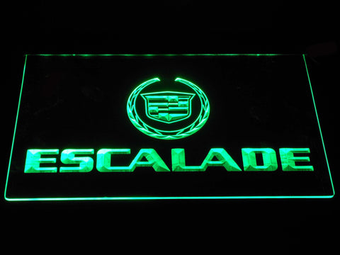 Cadillac Escalade LED Neon Sign - Green - SafeSpecial