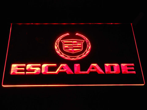Cadillac Escalade LED Neon Sign - Red - SafeSpecial