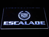 Cadillac Escalade LED Neon Sign - White - SafeSpecial