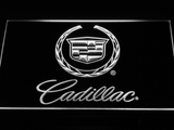 Cadillac LED Neon Sign - White - SafeSpecial