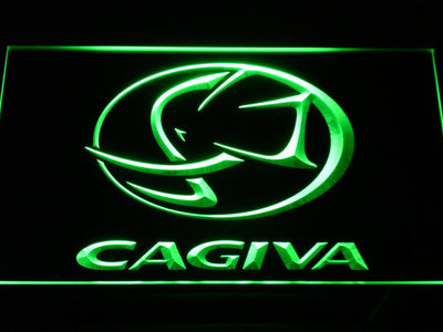 Cagiva LED Neon Sign - Green - SafeSpecial