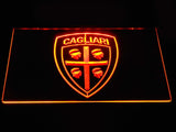 Cagliari Calcio LED Neon Sign - Orange - SafeSpecial