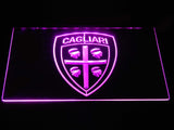 Cagliari Calcio LED Neon Sign - Purple - SafeSpecial