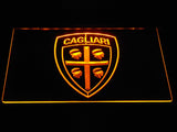 Cagliari Calcio LED Neon Sign - Yellow - SafeSpecial