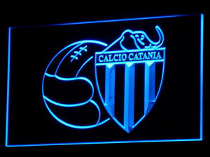 Calcio Catania LED Neon Sign - Blue - SafeSpecial