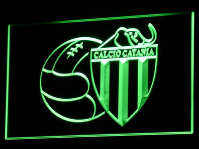 Calcio Catania LED Neon Sign - Green - SafeSpecial