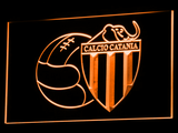 Calcio Catania LED Neon Sign - Orange - SafeSpecial