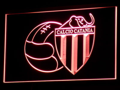 Calcio Catania LED Neon Sign - Red - SafeSpecial