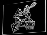 Calgary Roughnecks LED Neon Sign - White - SafeSpecial