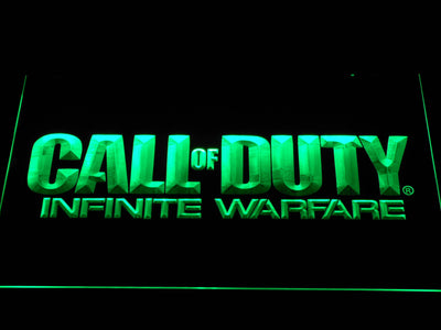 Call of Duty Infinite Warfare LED Neon Sign - Green - SafeSpecial