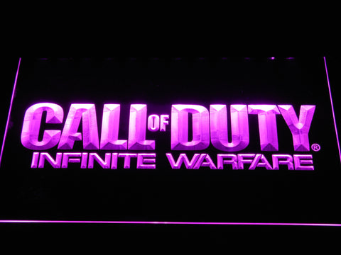 Call of Duty Infinite Warfare LED Neon Sign - Purple - SafeSpecial