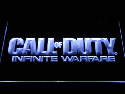 Call of Duty Infinite Warfare LED Neon Sign - White - SafeSpecial