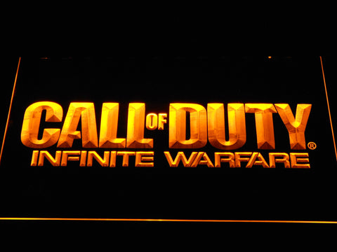 Call of Duty Infinite Warfare LED Neon Sign - Yellow - SafeSpecial