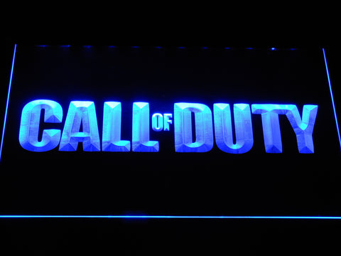 Image of Call of Duty LED Neon Sign - Blue - SafeSpecial