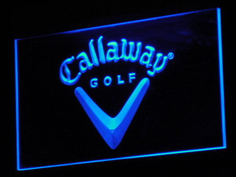 Callaway LED Neon Sign - Blue - SafeSpecial
