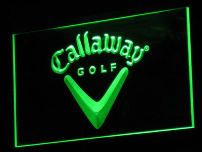 Callaway LED Neon Sign - Green - SafeSpecial