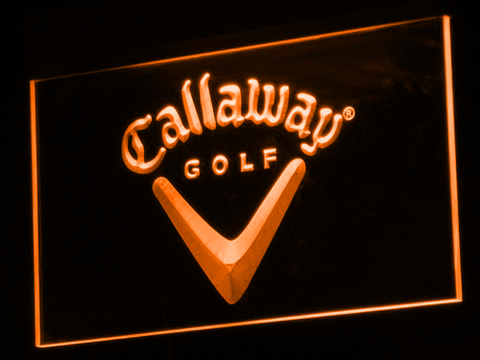 Callaway LED Neon Sign - Orange - SafeSpecial
