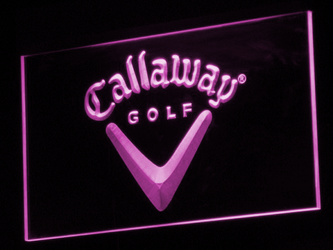 Callaway LED Neon Sign - Purple - SafeSpecial