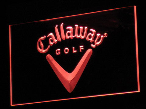 Callaway LED Neon Sign - Red - SafeSpecial