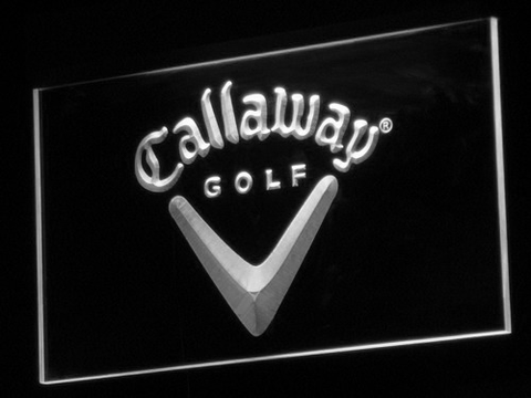 Callaway LED Neon Sign - White - SafeSpecial