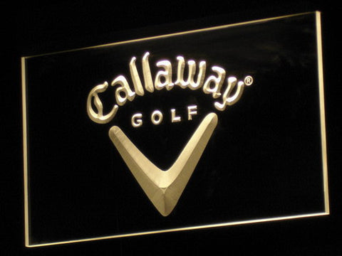 Image of Callaway LED Neon Sign - Yellow - SafeSpecial